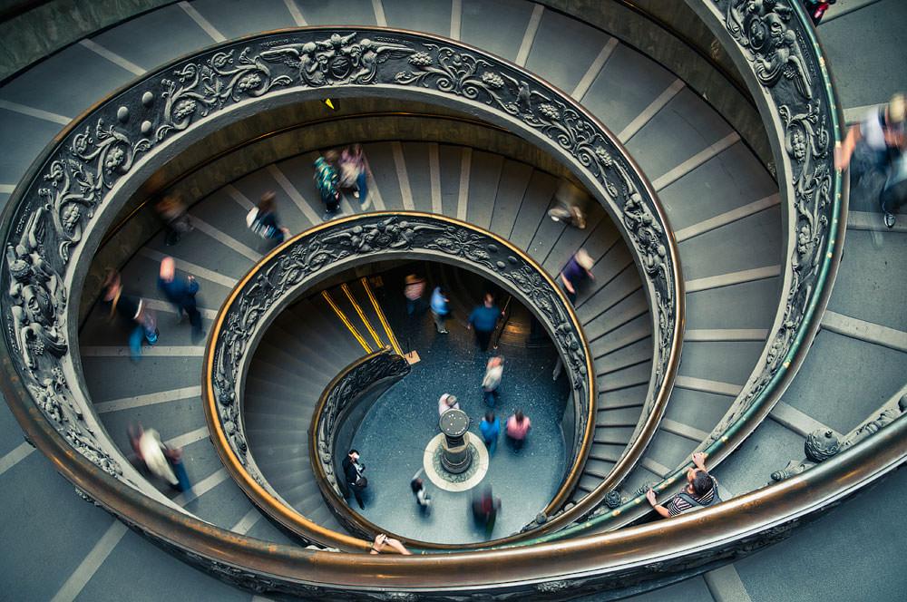 6 consejos principales sobre cómo fotografiar escaleras y escalones de forma creativa