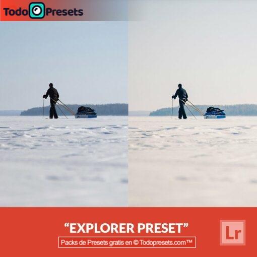 Explorador de presets de Lightroom gratis