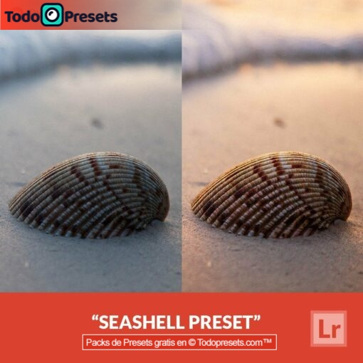Seashell Preset de Lightroom gratis