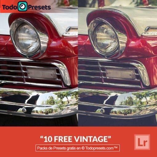 10 presets de Lightroom vintage gratis