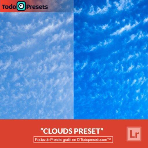 Nubes Presets de Lightroom gratis
