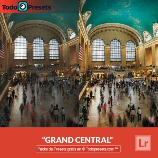 Lightroom Preset Grand Central gratis