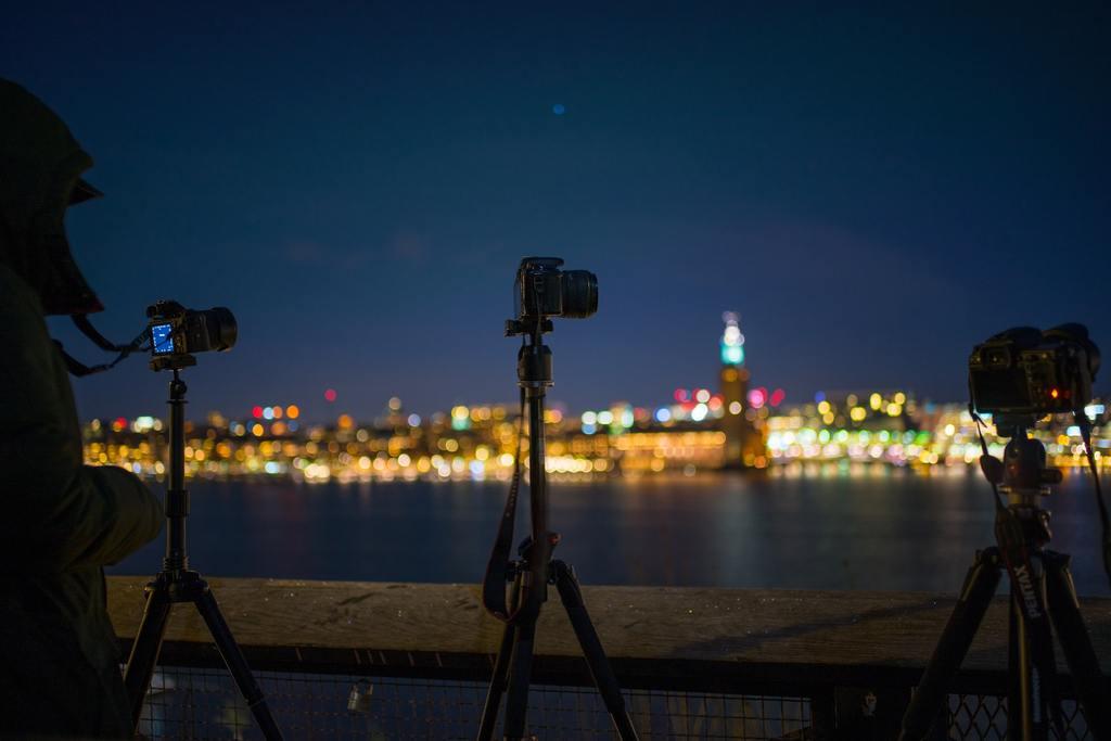 Cómo usar un trípode para fotografía