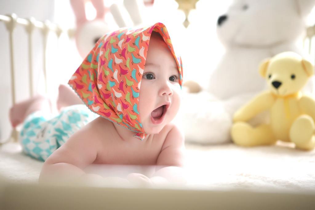 Foto de bebé del video de taller del manual de masterización gratuito