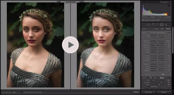 Dominar los pinceles en Lightroom: bonitos presets para Lightroom
