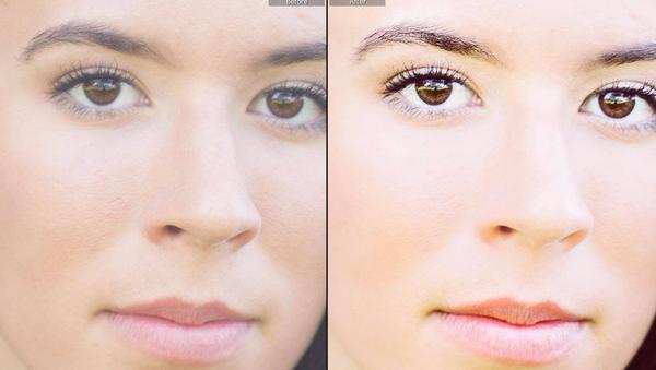 Edición de rostros con los pinceles perfectos para retratos