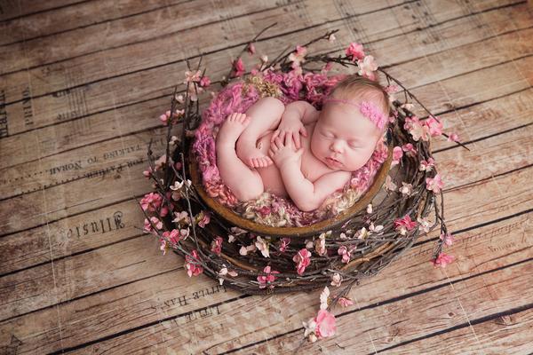 Fotografía de recién nacidos (cómo hacer que el bebé se duerma)