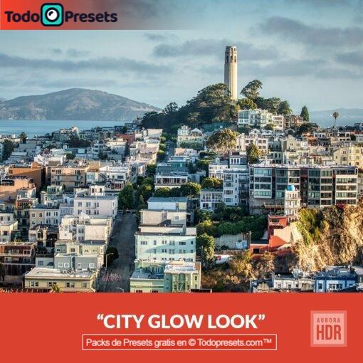Aurora HDR Look City Glow
