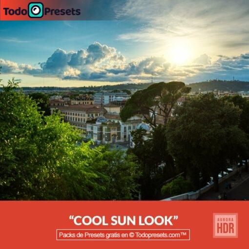 Aurora HDR Look Cool Sun