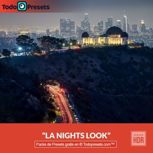 Aurora HDR Look LA Nights