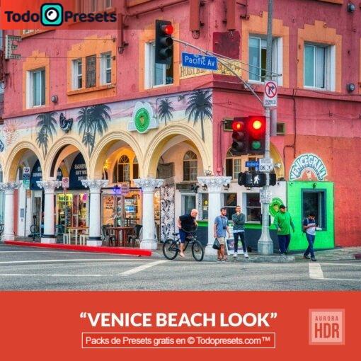 Aurora HDR Look Venice Beach
