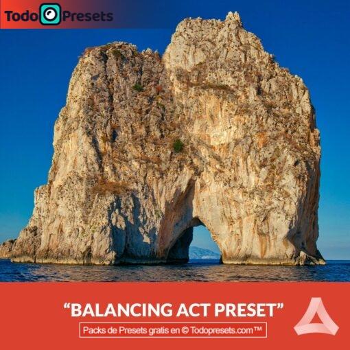 Ley de equilibrio Preset Aurora HDR gratis