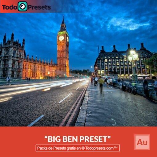 Aurora HDR Preset Big Ben
