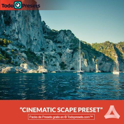 Paisaje cinematográfico Preset Aurora HDR gratis