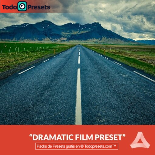 Película dramática Preset Aurora HDR gratis