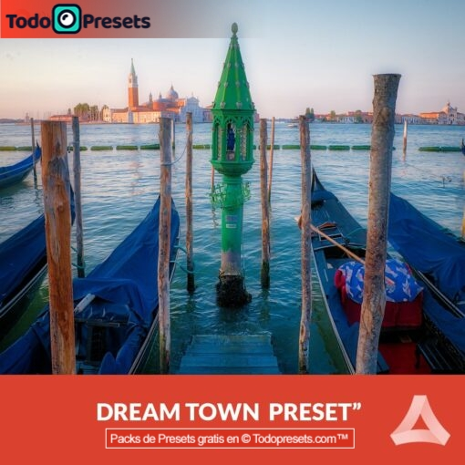 Aurora HDR Preset Dream Town gratis