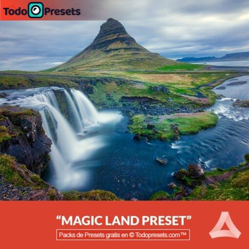 Paisaje mágico Preset Aurora HDR gratis