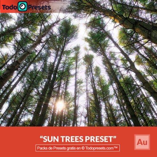 Árboles solares Presets Aurora HDR gratis