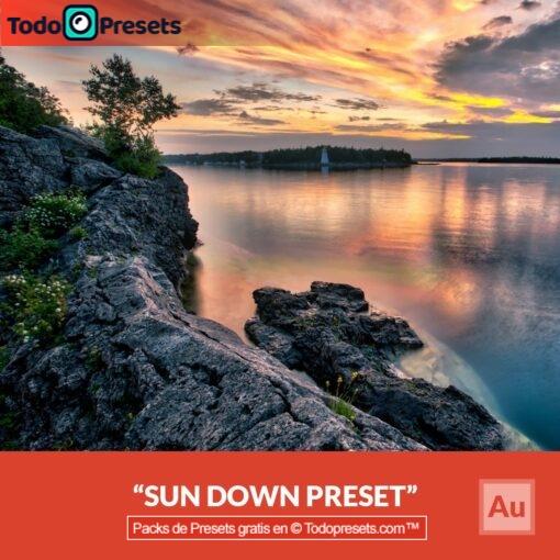 Aurora HDR Preset Sundown gratis