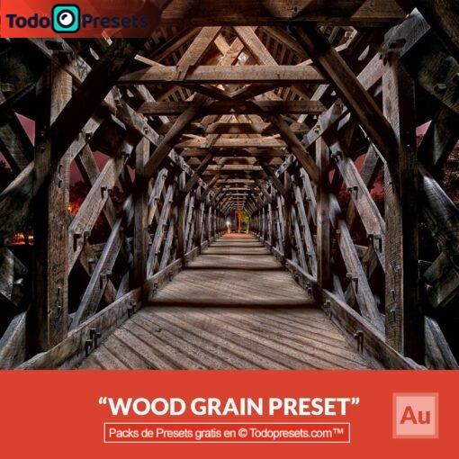 Grano de madera Preset Aurora HDR gratis