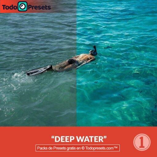Captura gratis de aguas profundas Presets