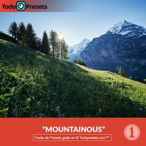 Capture One preset montañoso