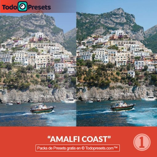Capture One Preset Costa de Amalfi