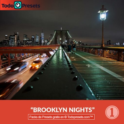 Captura gratis One Preset Brooklyn Nights