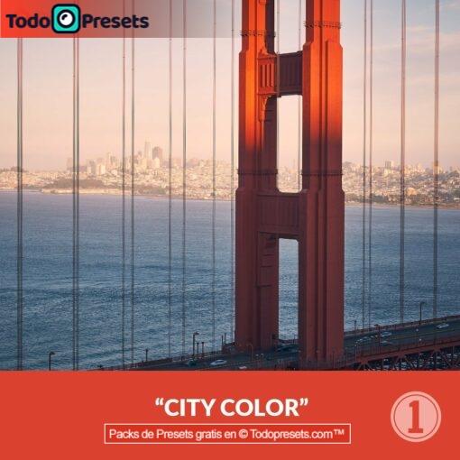 Capture One color de ciudad Preset