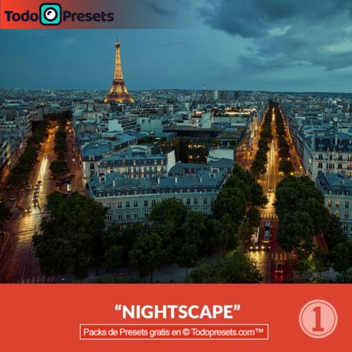 Capture One paisaje nocturno Preset