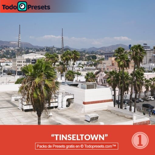 Capture One Preset Tinsel Town gratis