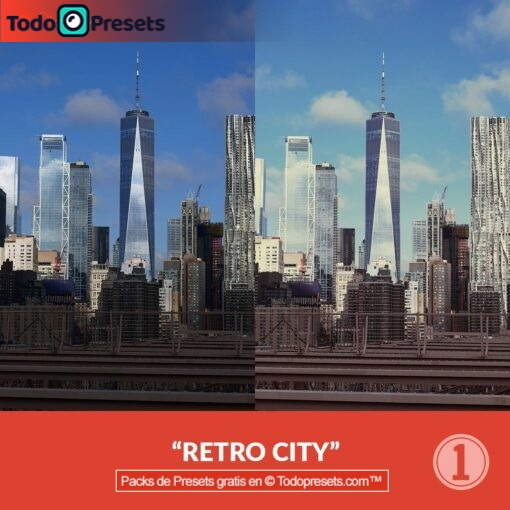Capture One Preset Retro City