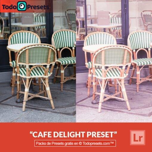 Lightroom Preset Café Delight gratis