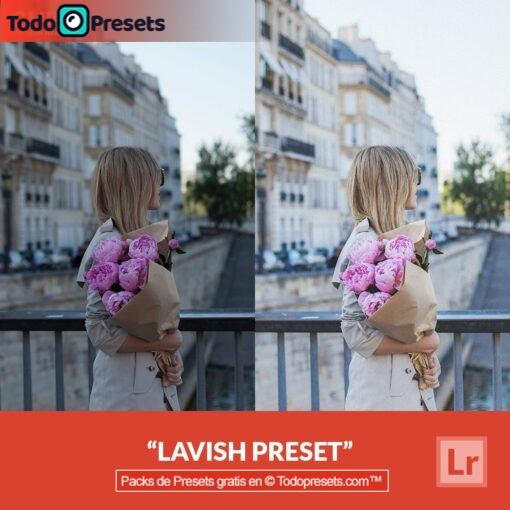 Lightroom Preset Lavish gratis