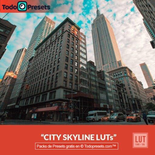 Skyline de la ciudad de LUT gratis