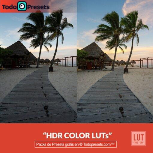 Color HDR de LUT gratis