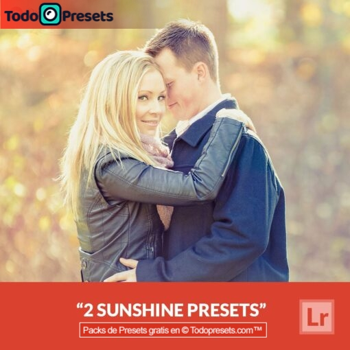 2 presets de Lightroom gratis Sunshine