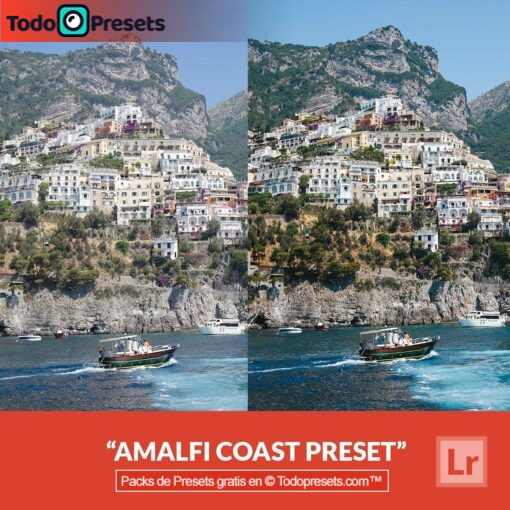 Lightroom Preset gratis Costa de Amalfi
