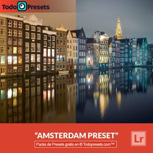 Lightroom Preset Amsterdam