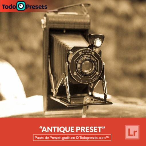 Antigüedad Preset de Lightroom gratis