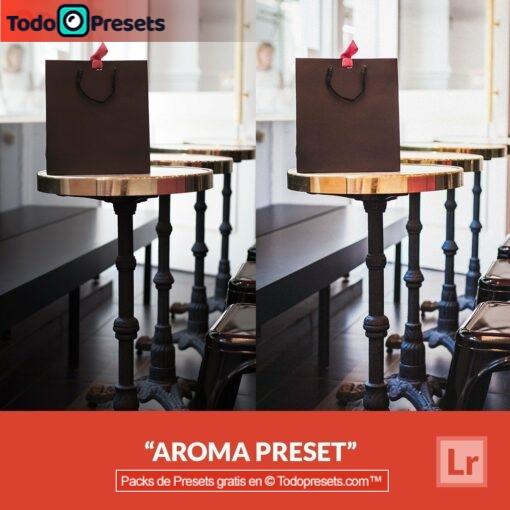 Aroma Preset de Lightroom gratis