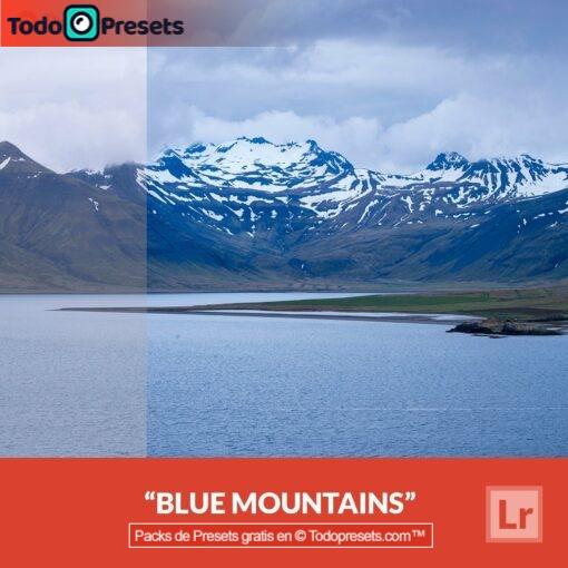 Montañas azules Presets de Lightroom gratis