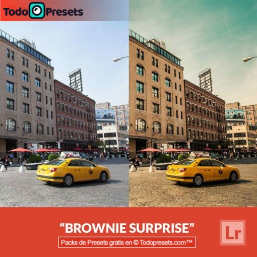 Lightroom Preset Brownie Surprise