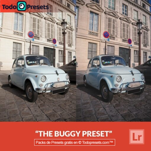 Buggy Preset de Lightroom gratis