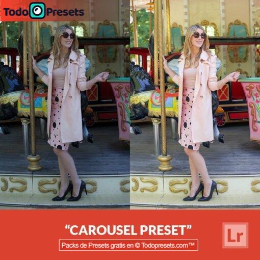 Carrusel Preset de Lightroom gratis