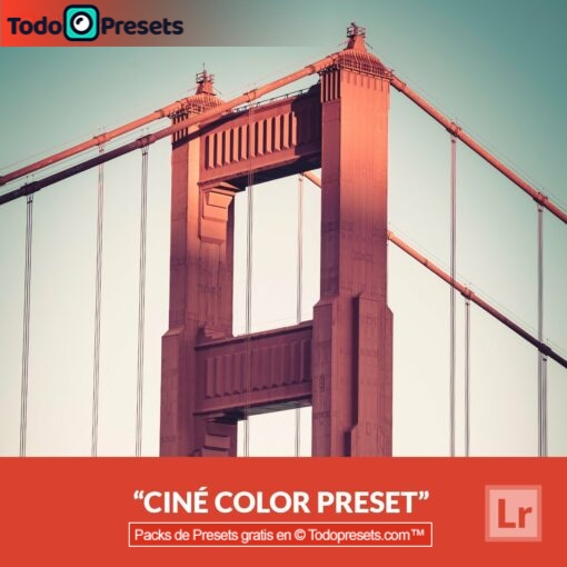 Color Ciné Preset de Lightroom gratis