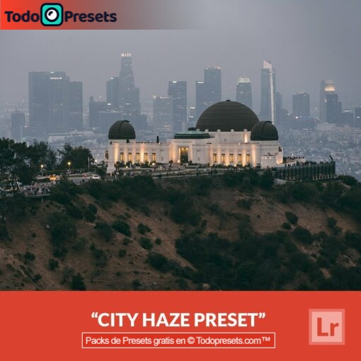 Lightroom Preset City Haze gratis
