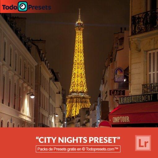 Noches de ciudad Preset de Lightroom gratis