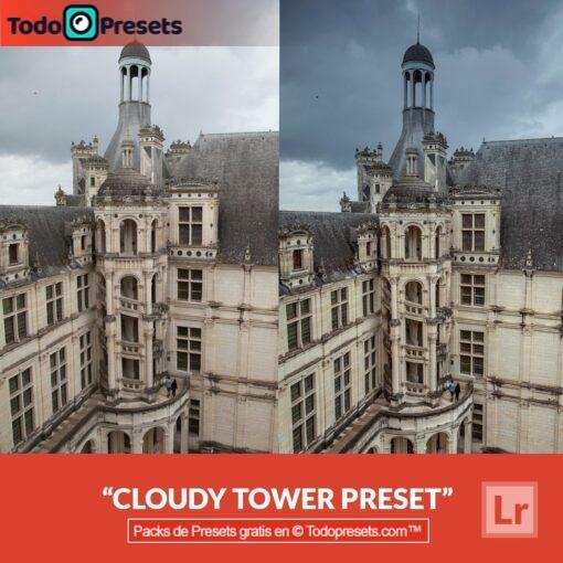 Torre nublada Preset de Lightroom gratis
