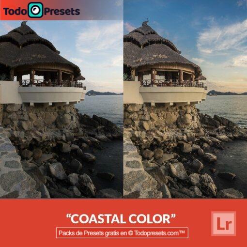 Color costero Preset de Lightroom gratis